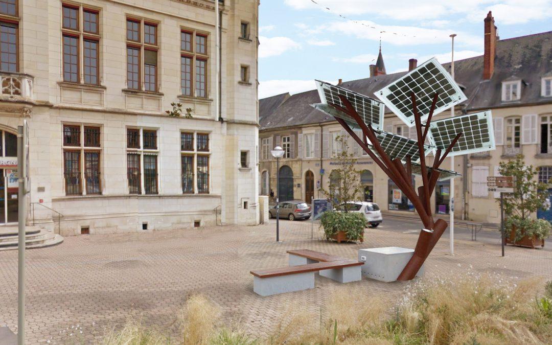 Nevers, première ville européenne à planter un e-tree