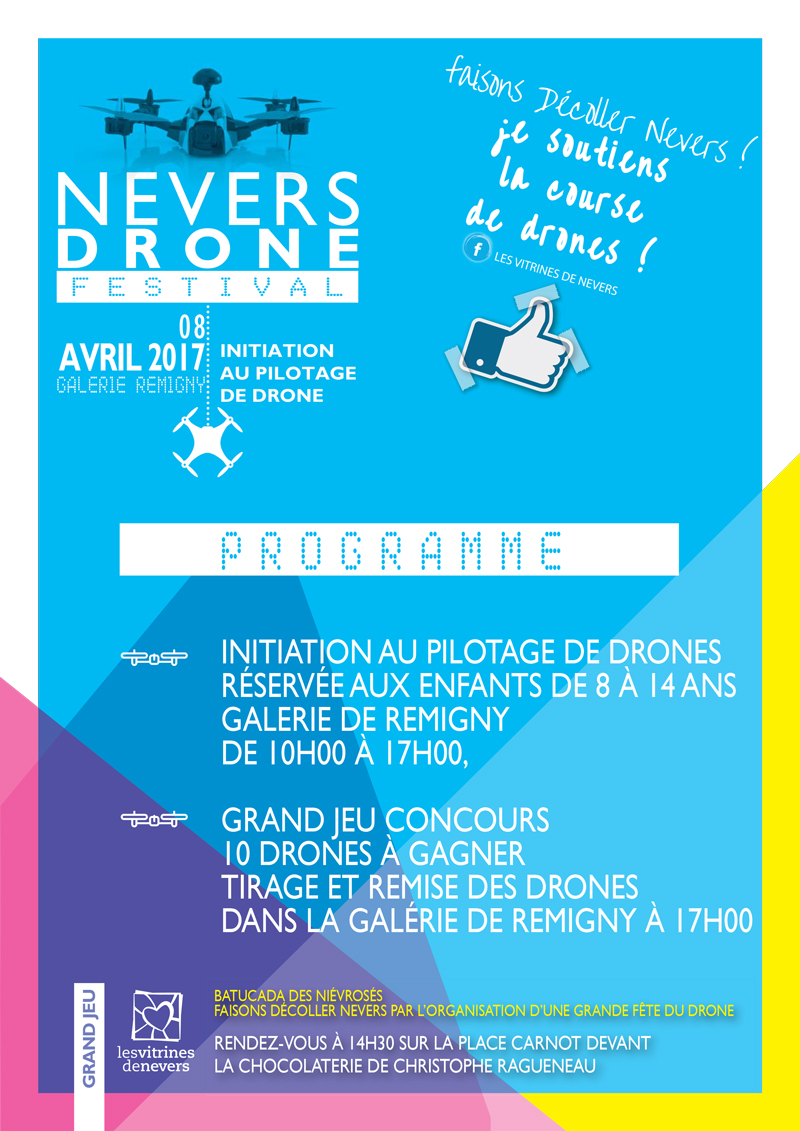 programme 8 avril 2017 nevers drones