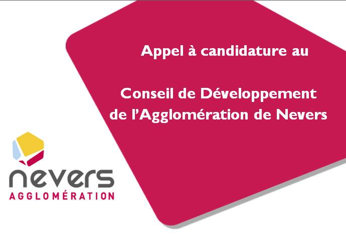 Appel à candidature au Conseil de Développement de l'Agglomération de Nevers