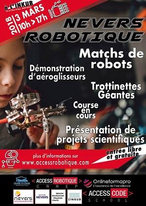 Les robots font le show à l'Inkub