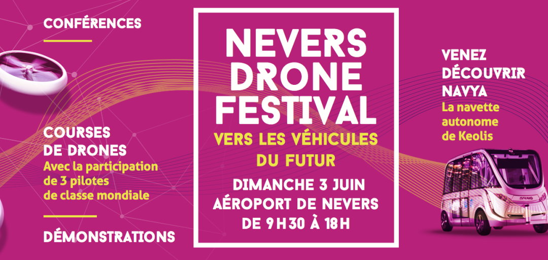 Programme de Nevers Drone du 3 Juin 2018