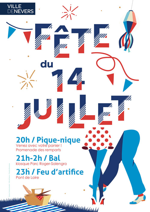 14 juillet à Nevers