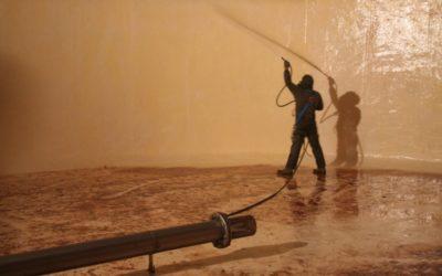Le grand nettoyage annuel des réservoirs d'eau potable