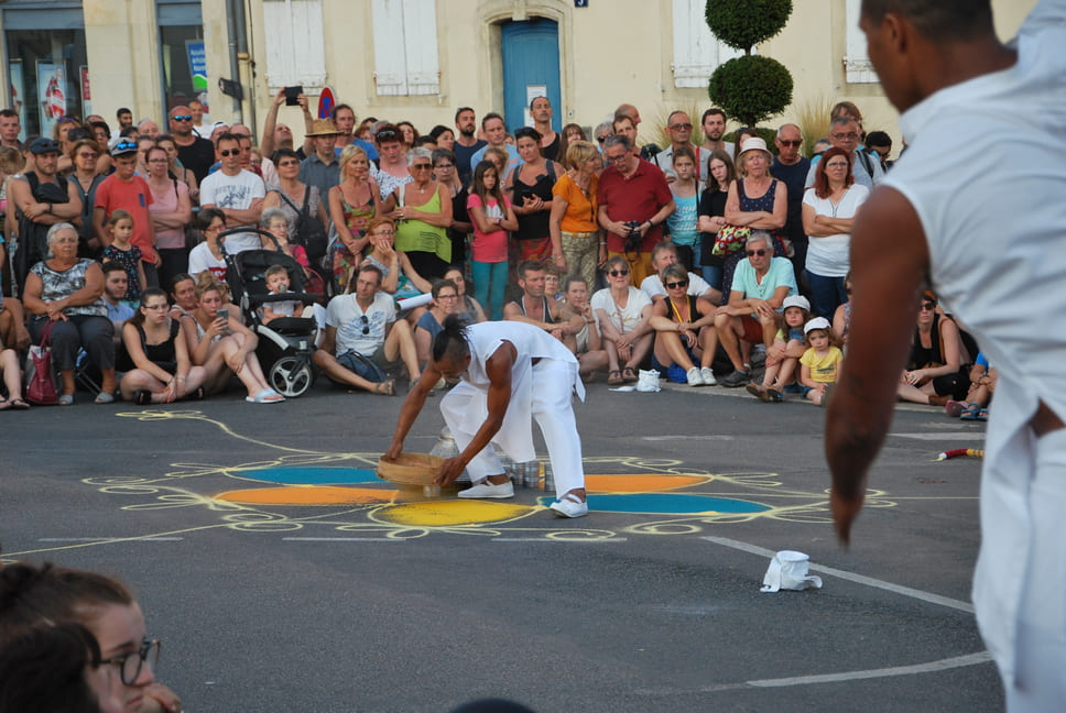 Spectacle The color of time -cie Artonik - Nevers juillet 2019