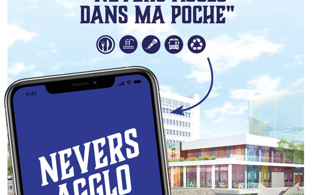 Nevers Agglomération lance son application mobile