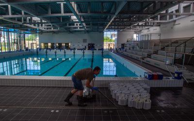 Le grand nettoyage de printemps des piscines communautaires