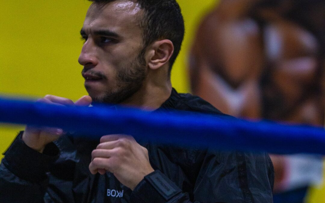 Sofiane Khati a l'Europe à portée de poings