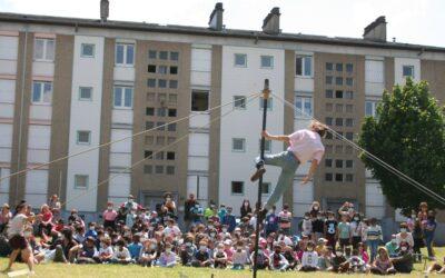 Une belle pincée de cirque au Banlay